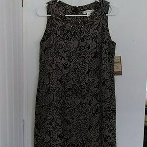 Dress P6 cold water creek black NWT